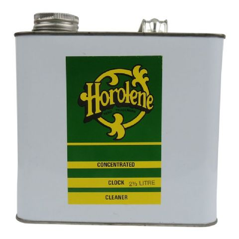 Horolene Concentrated Clock Cleaner 2.5ltr